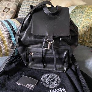 Versaces Iconic Medusa Head Backpack